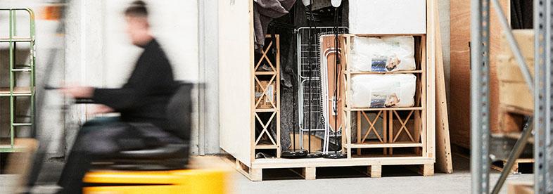 Opbevaring og lagerhotel – Billig og sikker lageropbevaring